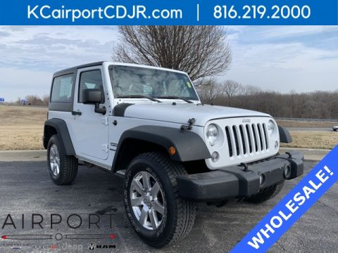 Pre-Owned 2014 Jeep Wrangler Sport 4WD 2D Sport Utility