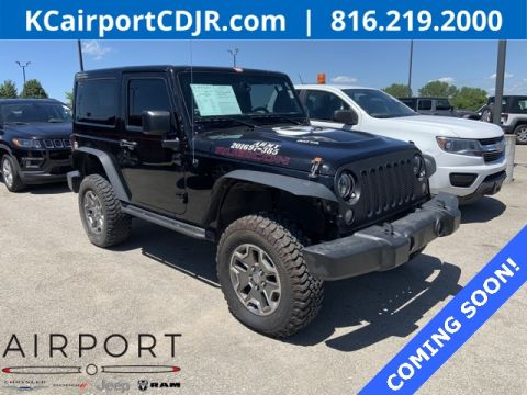 Pre-Owned 2016 Jeep Wrangler Rubicon 4WD 2D Sport Utility