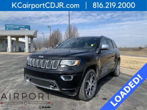 Certified Pre-Owned 2019 Jeep Grand Cherokee Overland 4WD 4D Sport Utility